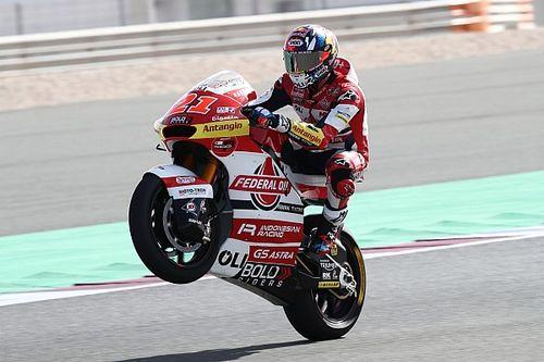 Moto2, Doha, Libere 1: Diggia-Bezzecchi, doppietta italiana