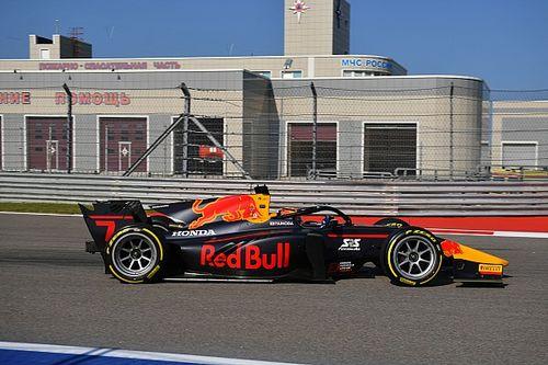 F2, Sochi: dominio Carlin con Tsunoda in pole. Schumacher terzo