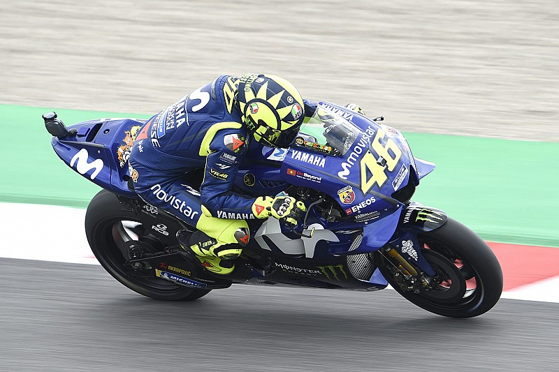 MotoGP Mugello 2018: Pole-Position für Valentino Rossi