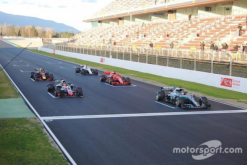 F1 testa sistema de relargadas paradas em teste