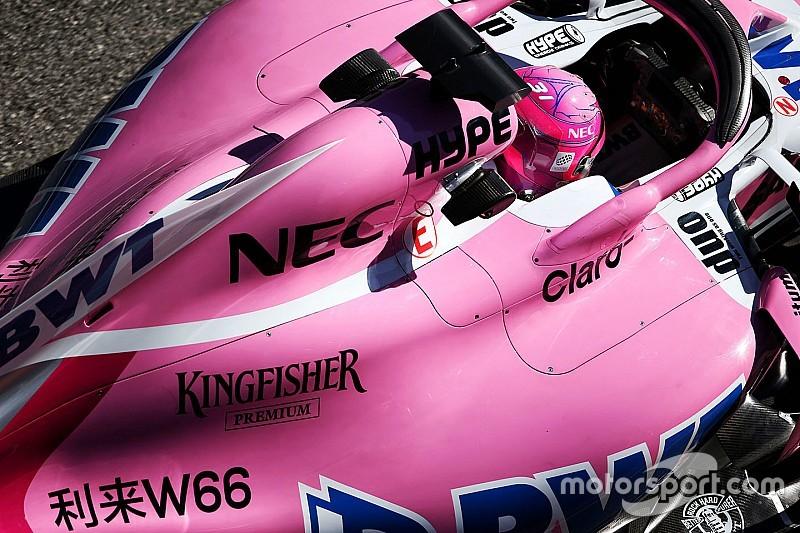 Force India não mudará de nome em 2018