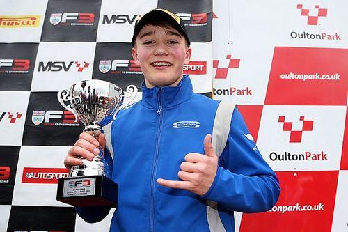 Monger logra podio en su regreso a las carreras