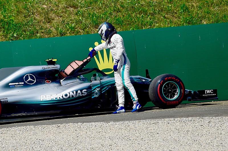 Große Sorgen: Muss Mercedes Bottas' Motor tauschen?