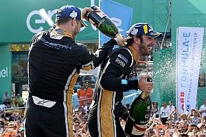 Formula E Jelentés a versenyről A két csapattárs vívott parázs csatát a győzelemért a Formula E chilei futamán