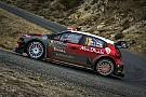 WRC Breen sólo pudo desconectar