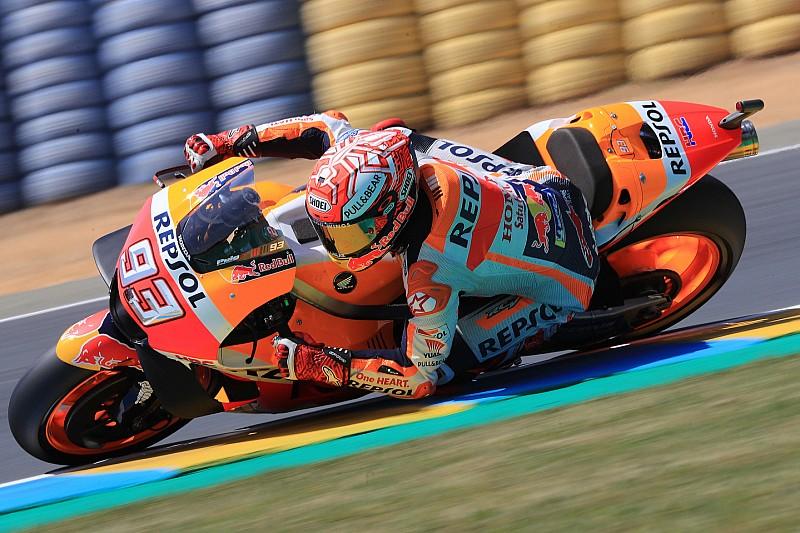 Гран Прі Франції: найкращим у розминці став Маркес, Кратчлоу 11-й