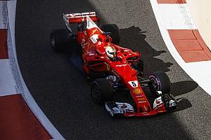 Formula 1 Test raporu 2017 Abu Dhabi testinin son gününde Vettel lider, Kubica yedinci