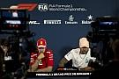 Formel 1 PK-Scherz zwischen Hamilton und Vettel: Bald Teamkollegen?