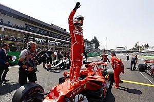 Fórmula 1 Relato de classificação Vettel bate Verstappen e marca pole para o GP do México