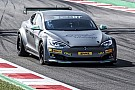 EGT Electric GT Tesla Model S overheated after just lap and a half