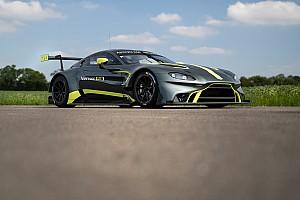 Новий Aston Martin Vantage GT3 вперше виїде на трасу в Ле-Мані