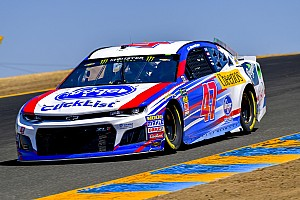 NASCAR Cup Race report Allmendinger wins Stage 1 at Sonoma after Truex and Harvick pit