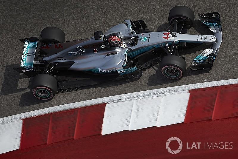 Mercedes usa últimos GPs do ano para fazer testes para 2018