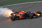 EL3 - Ferrari frappe fort, explosion du moteur de Ricciardo