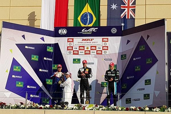 Indian Open Wheel Race report MRF Bahrain: Presley Martono kibarkan merah putih di podium Race 1