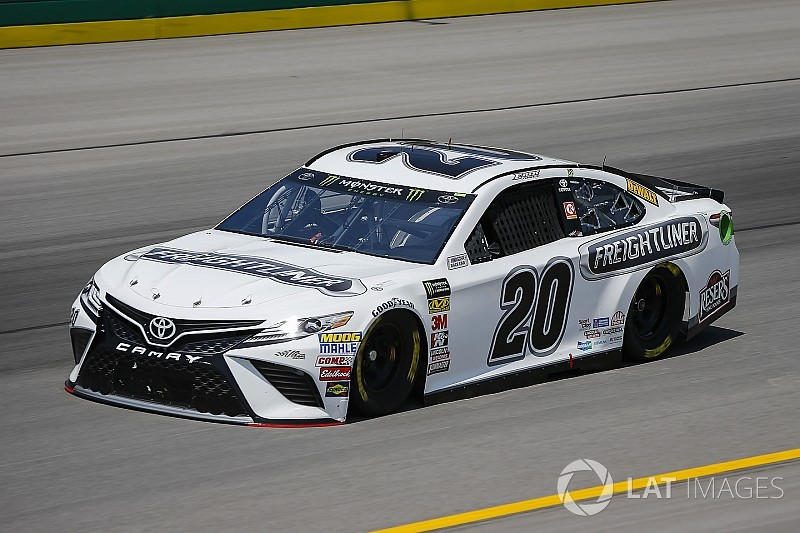 Fresh off first Cup win, Erik Jones tops final practice at Kentucky