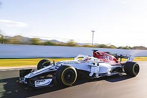 GALERÍA: el Alfa Romeo Sauber C37 ha salido a la pista