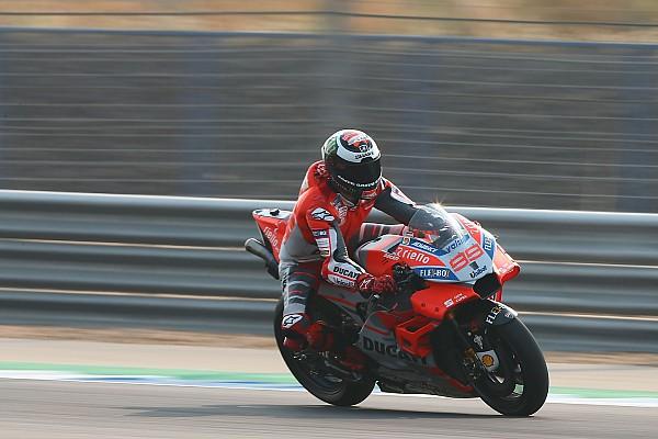 MotoGP Nieuws Lorenzo nog niet 'comfortabel' op nieuwe Ducati