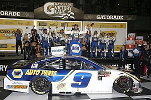 NASCAR Cup Rennbericht NASCAR 2018: Chase Elliott gewinnt Duel 2 in Daytona