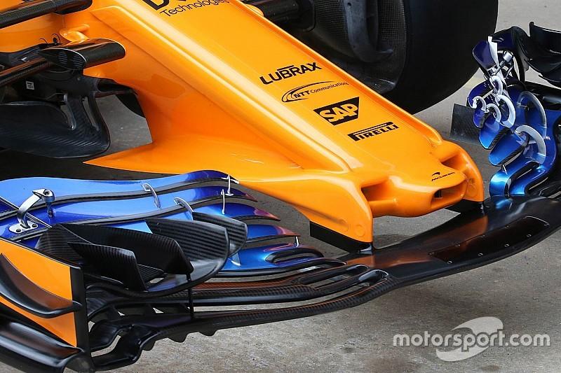 McLaren: ecco il nuovo muso rivoluzionario che farà scuola