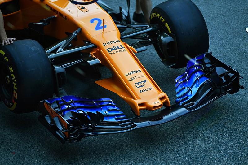 McLaren'ın yeni burun tasarımı ortaya çıktı!