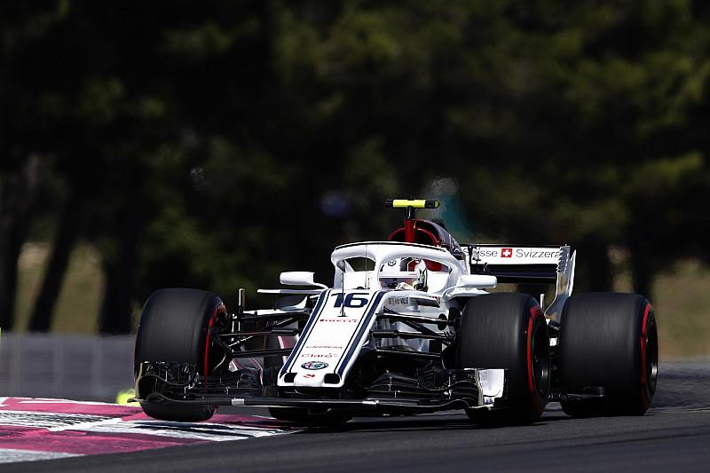 Leclerc tras colarse por primera vez en Q3: