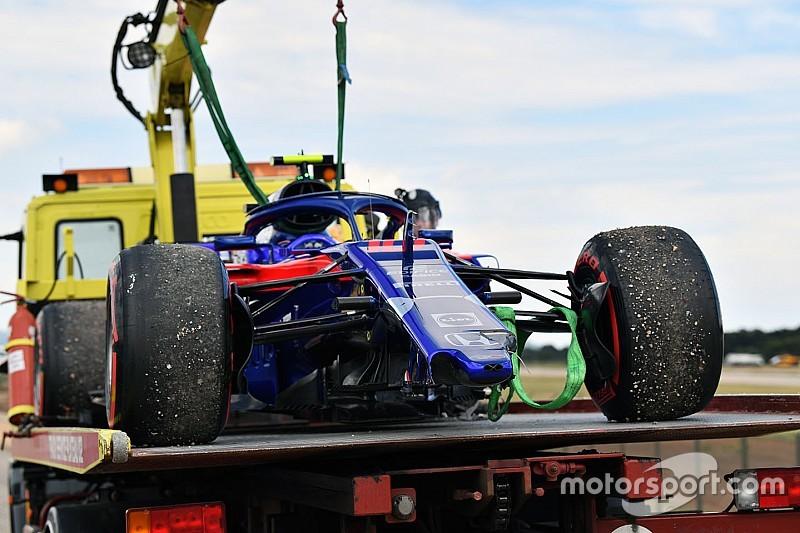 Toro Rosso se gastó más de 2 millones de euros en accidentes