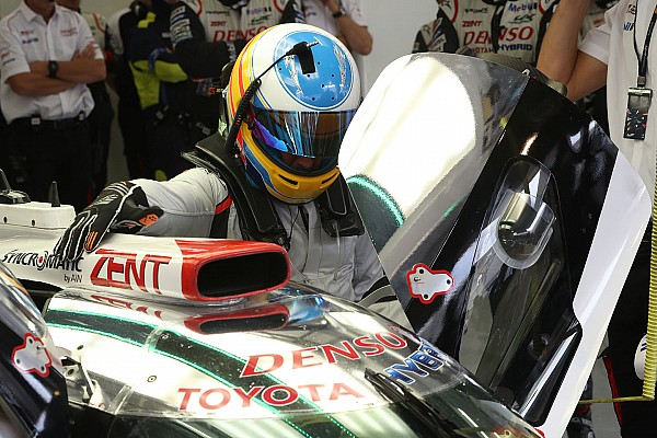 WEC Alonso ya manejó el Toyota LMP1 del WEC en Bahrein