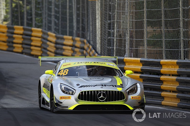 Macau GT: Mortara on pole as Mercedes dominates