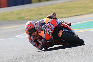 MotoGP Ultime notizie Le Mans, Warm-Up: Marquez fa paura a tutti con la gomma dura