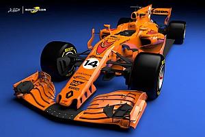 Vidéo 3D - Notre concept de la McLaren-Renault 2018