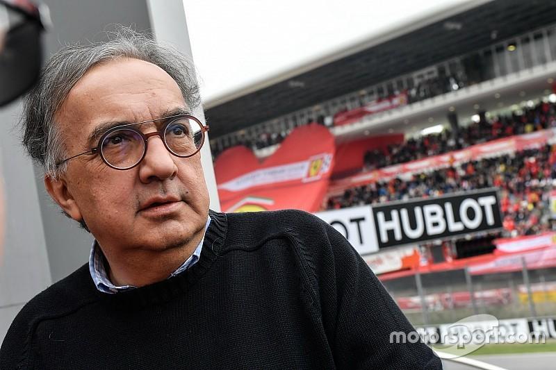Enfermedad deja a Marchionne fuera de Ferrari