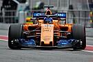 McLaren, MCL33'le Barcelona'da piste çıktı