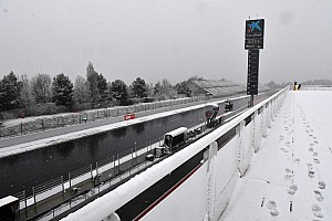 Formula 1 Breaking news Day 3 of Barcelona F1 testing delayed by snow