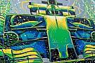F1 Arte en las carreras: lo que se pintó en la F1 en la temporada 2017