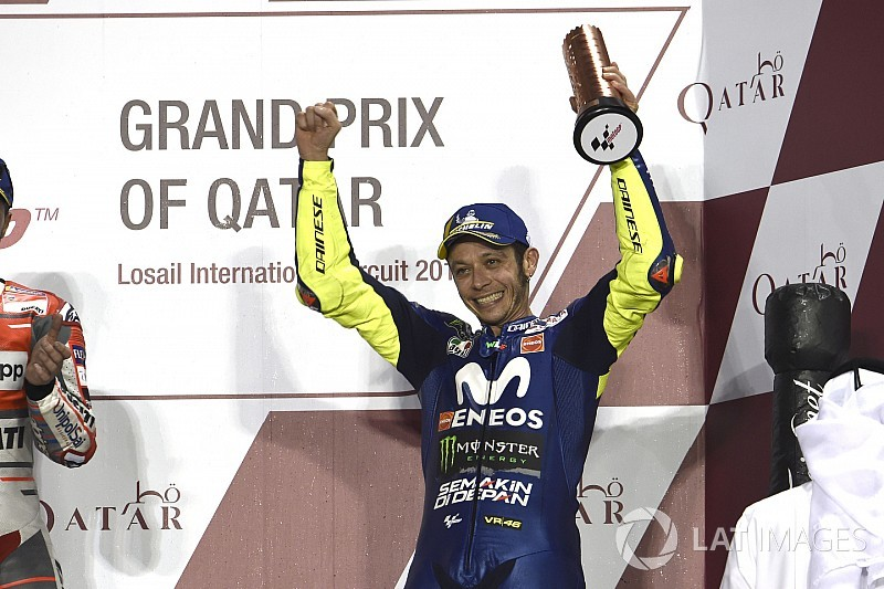 Torehan podium Qatar, Rossi buktikan belum tua