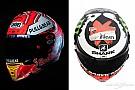 GALERÍA: los nuevos cascos de Márquez y Lorenzo