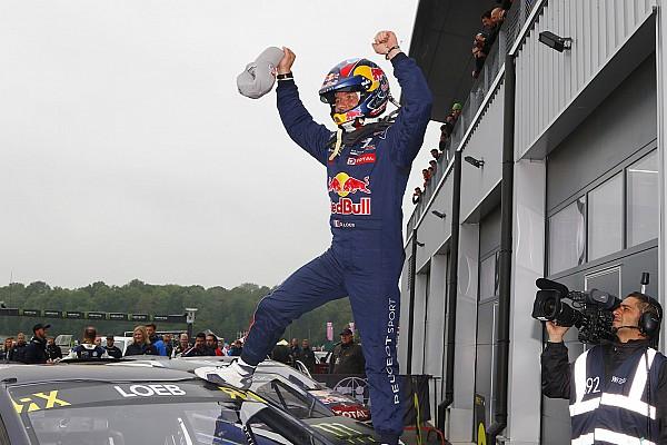 World Rallycross Résumé de course Second succès de Loeb en WRX avec Peugeot