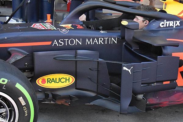 Формула 1 Избранное Гран При Австралии: шпионские фото технических новинок. Часть 2