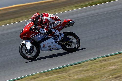 Mario Aji Puncaki FP2 CEV Moto3 Aragon