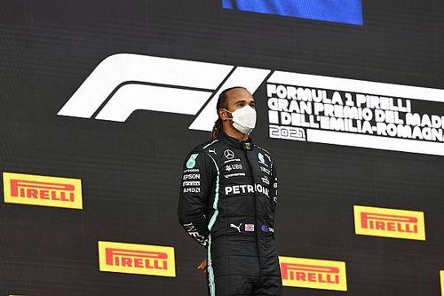 """汉密尔顿暗示他""""计划""""2022年继续参加F1"""