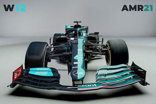 Teknik analiz: Aston Martin AMR21