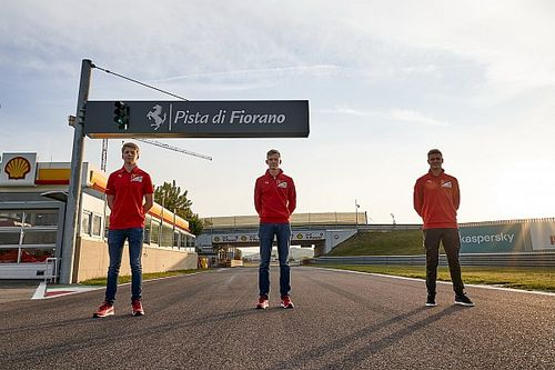Ferrari set to decide on juniors' promotion before F2 finale