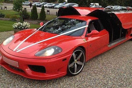 Alas de gaviota y 8 asientos: este Ferrari 360 Modena existe