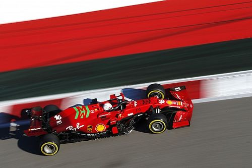 """Leclerc """"remeknek érezte"""" a Ferrari új motorját, és már a vasárnapi terveket szövögeti"""
