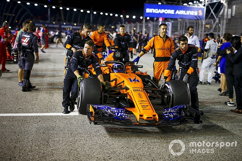 Extrém beállításokkal készülhet a McLaren az Orosz Nagydíjra