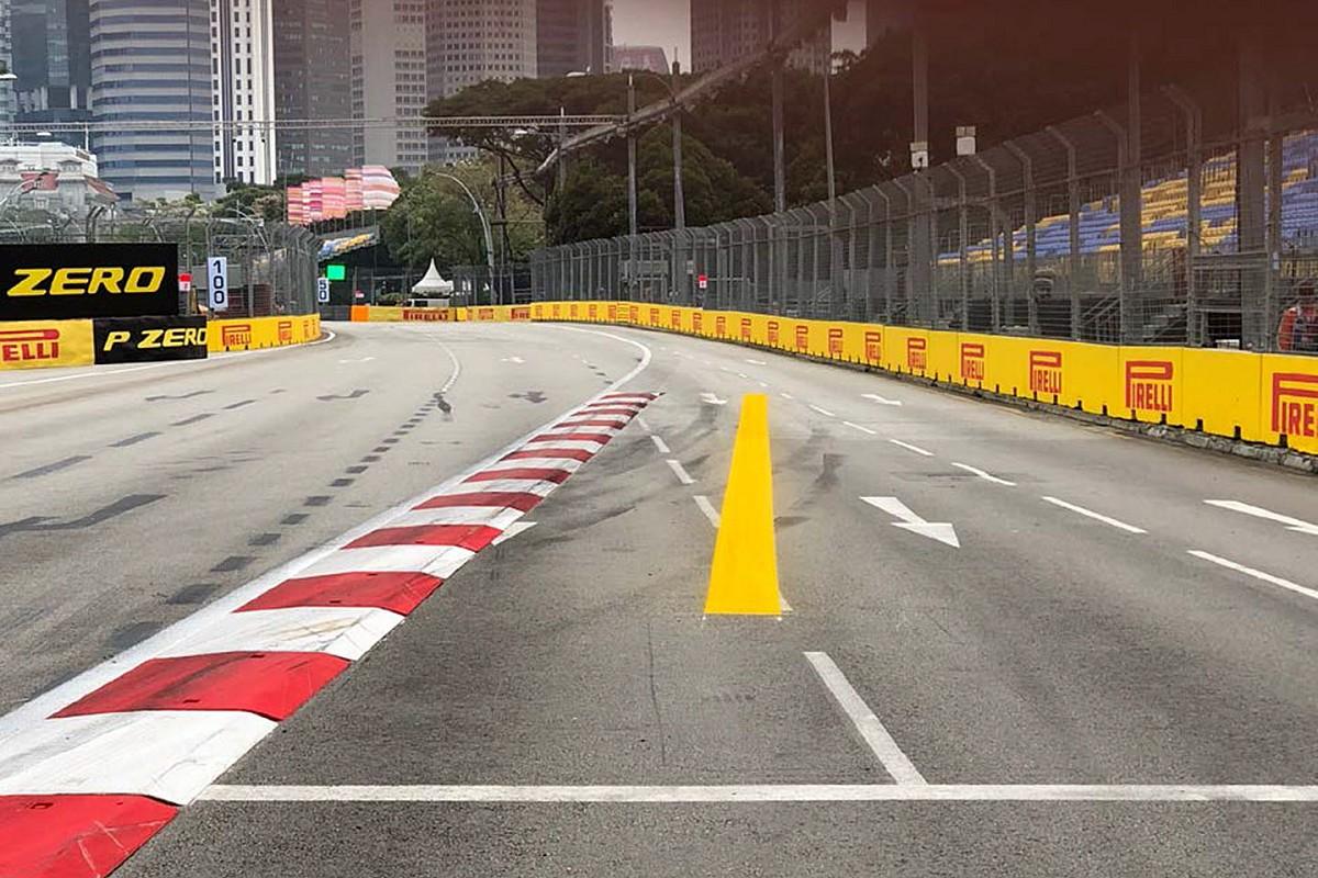 La FIA actúa sobre el abuso de los límites de la pista en Singapur