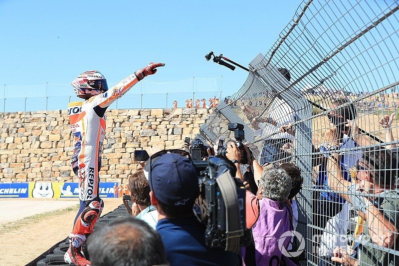 GALERI: Aksi balapan MotoGP Aragon