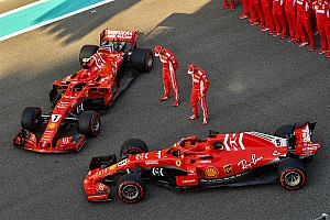 Fotogallery F1: i team si preparano per l'ultimo GP del 2018 ad Abu Dhabi