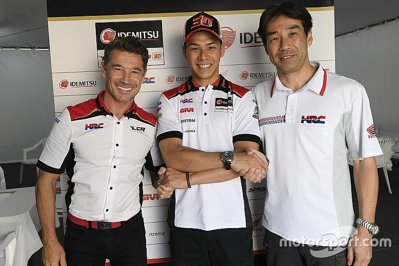 Nakagami earns LCR Honda contract extension